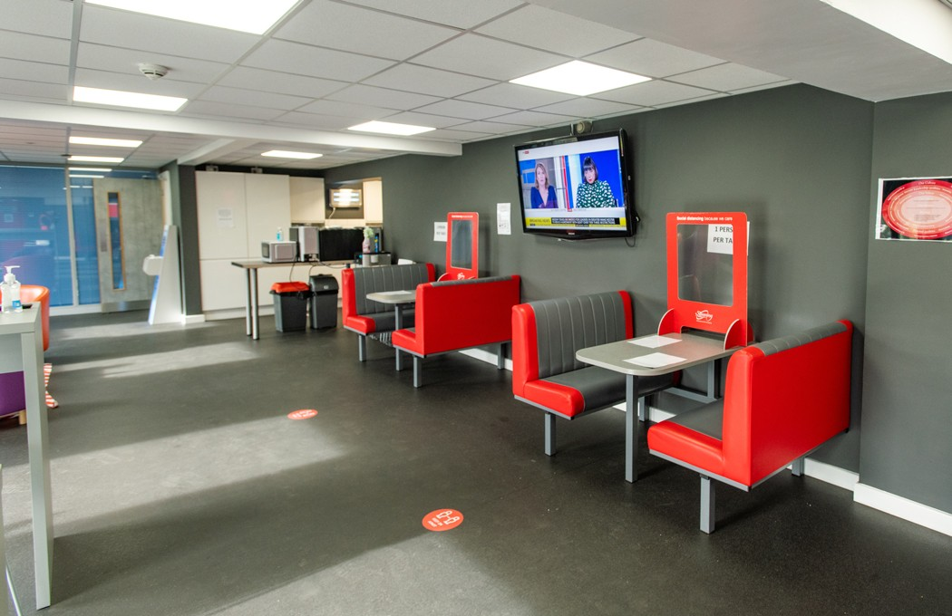 Slimming World Canteen and Break Out Area By APSS