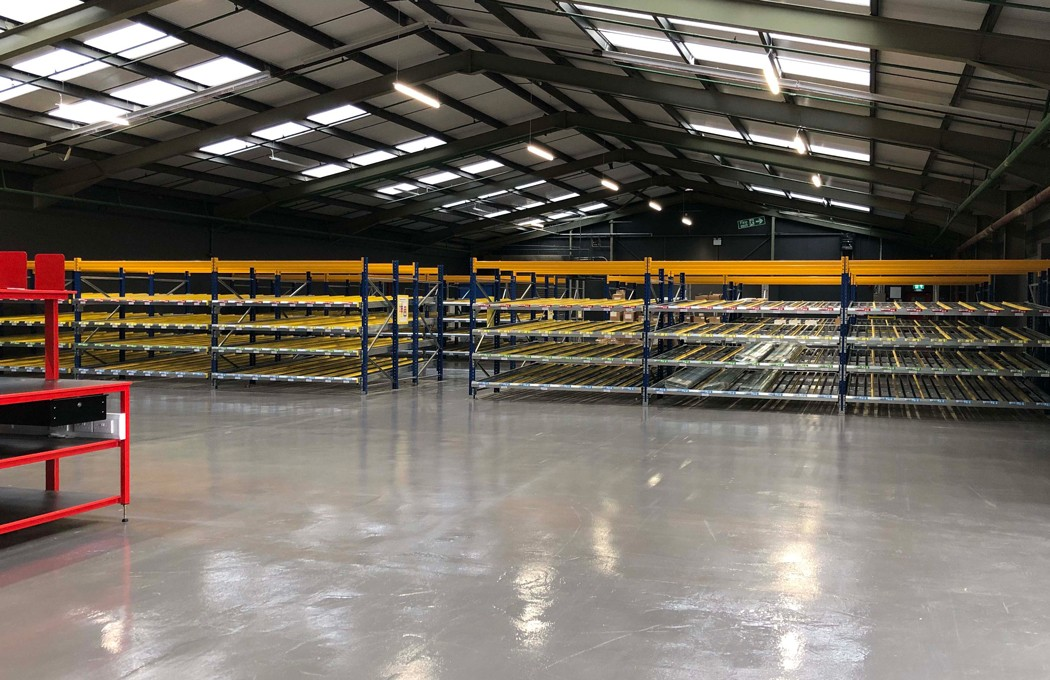Slimming World Warehouse and Racking By APSS